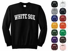 White Sox Adult Crewneck Sweatshirt College Letter
