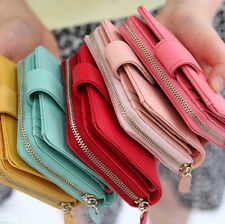 Leather Womens Wallet Purse_May