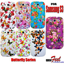 For Samsung Galaxy S3 i747 New Colourful Butterfly Silicone Gel Phone Case Cover