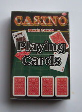 Casino Playing Cards Plastic coated