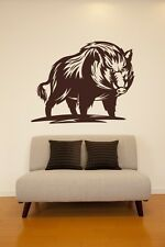 Wall Decal Animal Hog Razorback Pig Boar Wildlife Nature Hunting Sport