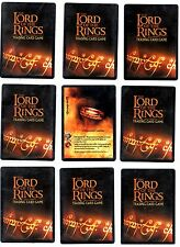 Lord of the Rings LOTR CCG TCG Fellowship of The Ring (Fotr) Rare cards 4/5