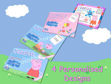 Peppa Pig Party Invitations Personalised (4 Designs)