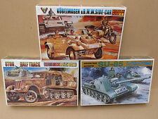 Science Treasury Military Model Kits, 1/72 Scale - Many and Various Available