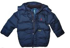 NWT RALPH LAUREN POLO BOULDER NAVY BOY DOWN JACKET WINTER COAT sz 4 5 6 7 8-20