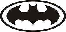 Batman Logo Large Vinyl Art Wall Sticker, Wall Decal, Mural