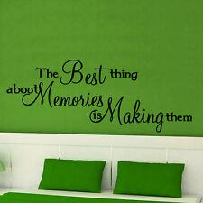 Best thing about MEMORIES wall art quote bedroom decor