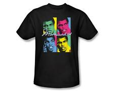 Muhammad Ali Fighter Neon Boxed Pictures Licensed Tee Shirt Adult S-3XL