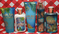 Bath Body Works ARUBA COCONUT 2013 Escape Collection Tropical Scent ~ U PICK