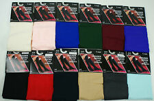 1 Pair Womens Trouser Knee High Socks Size 9-11 Women 12 Different Colors