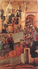 Photo Print Entry into Jerusalem Duccio Di Buoninsegna - in various sizes jwg-12