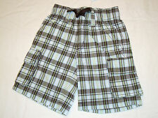 GYMBOREE Plaid For Spring Easter Celebrations Shorts 4 6 NWT Plaid Cargo