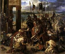 Photo Print The Entry of the Crusaders into Constantinople Delacroix, Eugne -