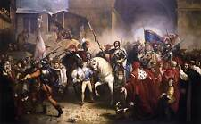 Photo Print Entry of Charles VIII into Florence Bezzuoli, Giuseppe - in various