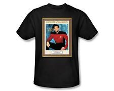 Star Trek Next Generation TNG Employee of the Month Number One Tee Shirt S-3XL