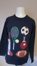 BODEN APPLIQUE LONG SLEEVED T SHIRT TOPS   BNWOT AGES 1-14  LOTS OF DESIGNS!