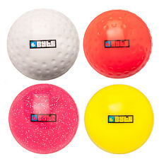 NEW BYTE FIELD HOCKEY DIMPLE OUTDOOR BALL ALL SURFACE TRAINING COLOURED ONE SIZE