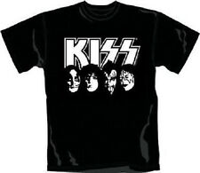 KISS - WHITE FACES - OFFICIAL MENS T SHIRT