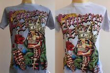 Emperor Eternity Skull King Tattoo Men T shirt M L EE34