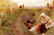 Photo/Poster - Our Daily Bread - Anders Zorn 1860 1920