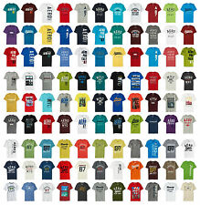 Aeropostale 1 Mens Cotton Blend Graphic Tee T Shirt XS S M L XL XXL Multi-Color