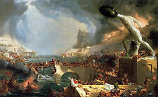 Photo/Poster - Course Of Empire Destruction - Thomas Cole 1801 1848