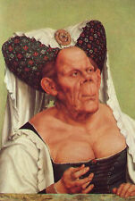 Art Photo Print - Grotesque Old Woman - Massys Quentin 1465 1530