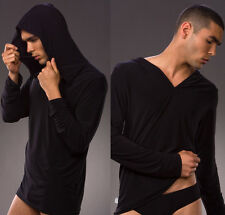 Hot Brand Men's Comfortable Long Sleeved Shirt Sleepwear Tops Size S M L 4 Color