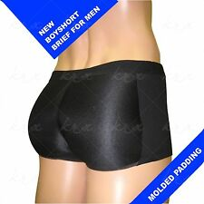 NEW! boxer brief butt booster padded BOYSHORT BRIEF enhancer FOR MEN