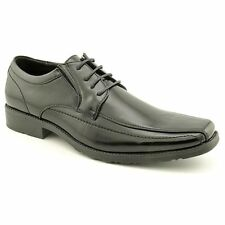 Men's Kenneth Cole Reaction Ultra Slick Black Leather Lace Up Dress Shoe