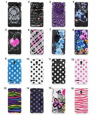 for LG Optimus L9 EC Solid Design Hard Snap On Cell Phone Case Cover Accessory