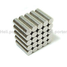 6mm x 1mm Disc Earth Neodymium Super strong Magnets 6x1mm Disc N35 Craft Model