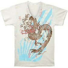 THE CLASH - DRAGON - OFFICIAL WOMENS V NECK T SHIRT
