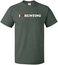 I HEART HUNTING Cool Precision Shooting Outdoor Sport LOVE T-Shirt
