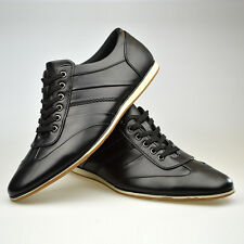 Mens Casual Navy (Blues) Leather Lace Up Shoes NEWLY LISTED (Limited Size Ratio)