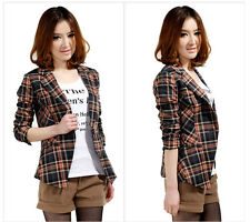 new fashion women's Grid small suit Shitsuke Leisure Western-style clothes #12