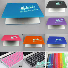 11Colors Rubberized Shell Hard Case+Keyboard Cover  for New Mac Pro 13 15 Retina