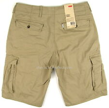 Levis Cargo Shorts - TIMBERWOLF ( KHAKI ) - Mens Levi's - Many Sizes