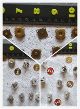 14mm 17mm magnetic snap button 6 sets