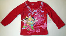 Disney Infant Girls Fairies Tinkerbell Iridessa Silvermist Long Sleeve T-shirt