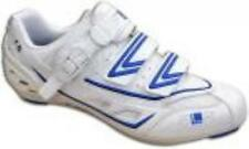 Funkier Bike FLR F-15 Race Road Bike Cycling Shoes in White and Blue