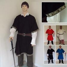 Deluxe Medieval Woolen Tunic. Perfect For Re-enactment Costume, Stage & LARP