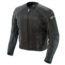 JOE ROCKET PHOENIX 5.0 MESH MOTORCYCLE RIDING JACKET BLACK WATERPROOF LINER TALL