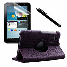 PU Leather Case Screen Protector Stylus pen for Samsung Galaxy Tab 2 7in P3110