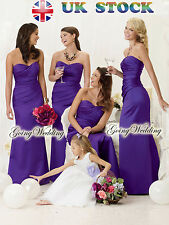 Cadbury purple Evening Wedding Party Dress size  8- 22