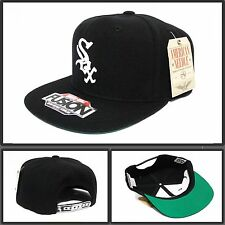 New American needle chicago white sox vintage MLB black snapback Cap hat