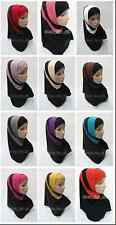 New Style 2 Piece Amira Hijab Muslim Hijab Islamic Scarf Wholesale Or Retail