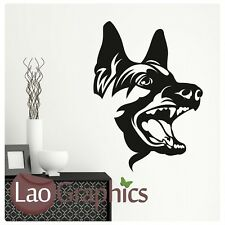 German Shepard Dog Wall Transfers / Interior Vinyl Decal / Dog Wall Stickers DO1