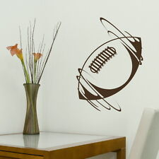 Rugby Ball - Sport Wall Sticker / Huge Art Wall Decal / Sport Wall Transfer x27