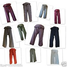 Thai Fishermans Pants UNISEX – Yoga, Beach, Hippy, Meditation, Holiday, Chillout